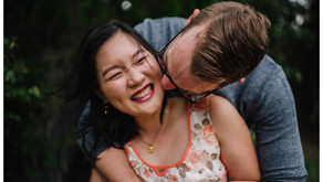 Angela + Ben // Stormy Hervey Bay Engagement Session