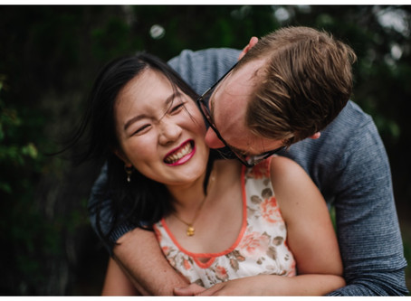 Angela + Ben // Stormy Hervey Bay Engagement Session