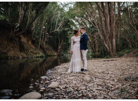 Aaron + Jess // Kingscliff Wedding