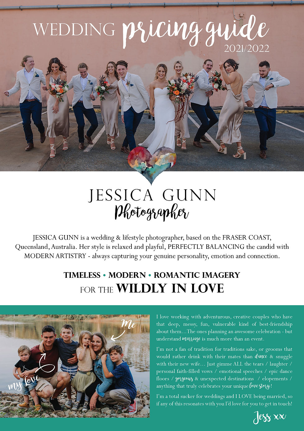 JGP Wedding Package Pricing Guide 21-22.