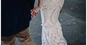 Bonnie & Nathan // Maryborough Warf st Wedding