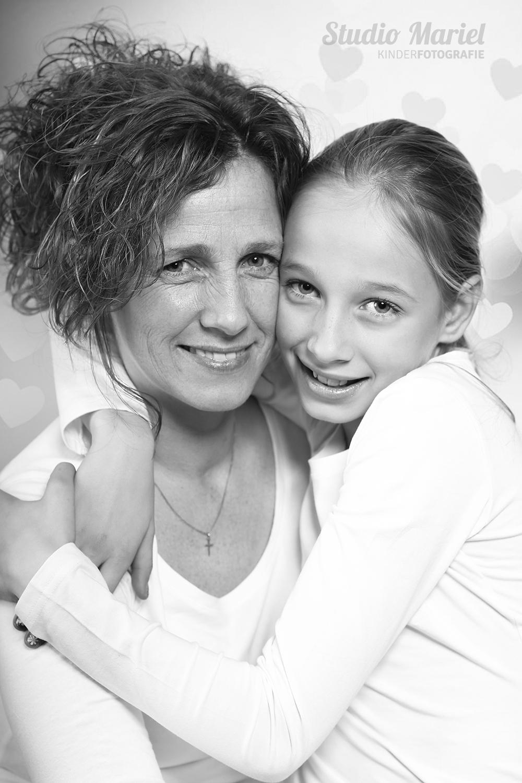 Moeder-dochter foto