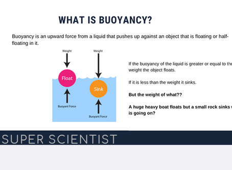 Learning about Buoyancy