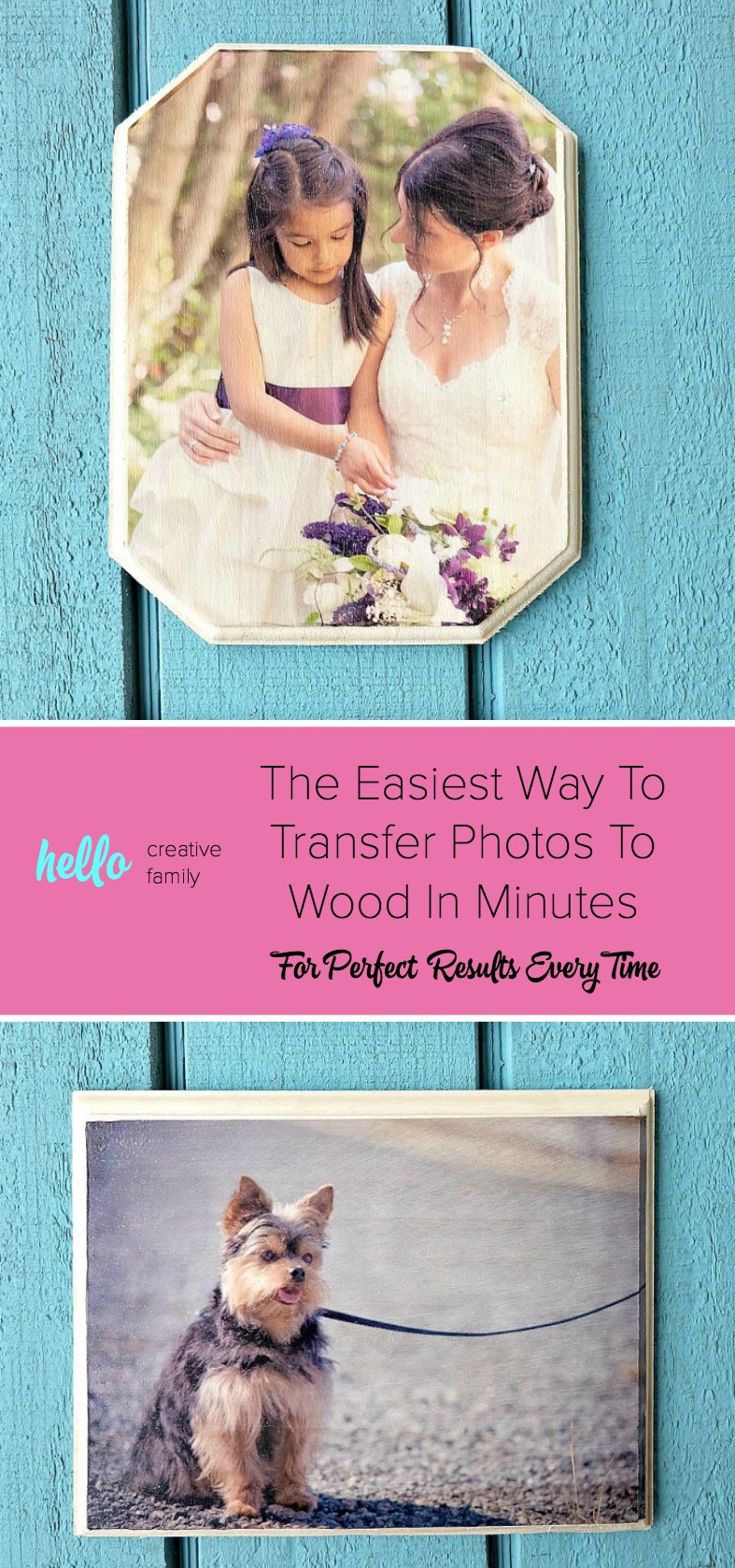 how to transfer photos to wood using modge podge or acrylic gel medium, easy DIY home decor photo transfers, wood signs