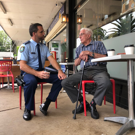 Chook A Licious Hosts: Coffee with a Cop!