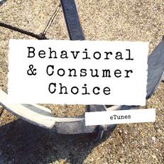 Behavioral & Consumer Choice Playlist