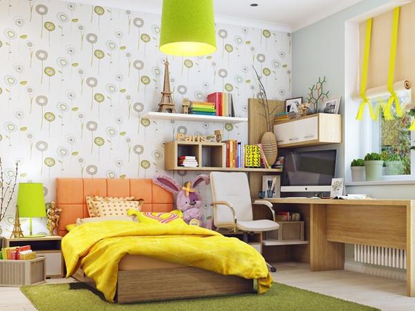 ห้องนอนเด็กสีแจ่ม ๆ น่ารักสดใสออปชั่นครบ2.jpg