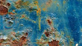 ปัญหาสีสนิมบนผิวเหล็ก(Rusty Metal Surface)