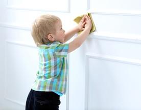 ทำความสะอาดผนังบ้าน..เรื่องกล้วย ๆ