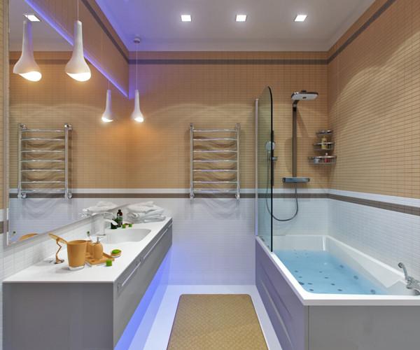 แบบห้องน้ำชั้นล่าง แนวโมเดิร์นสีเหลือง-เทา2.jpg