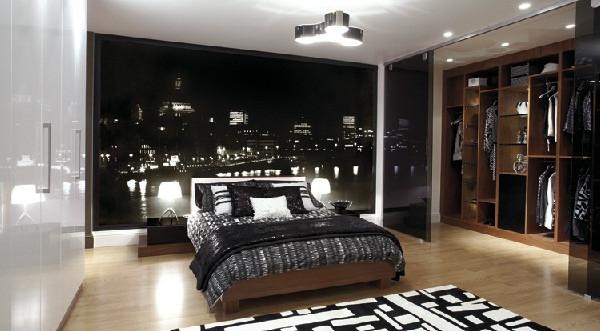 ห้องนอนสีดำเท่ ๆ สำหรับผู้ชาย2.jpg