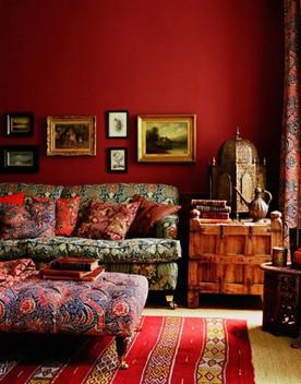 ไอเดียแต่งห้องโทนสีแดง.. มนต์เสน่ห์แห่งความร้อนแรงผสานบรรยากาศอันน่าค้นหา