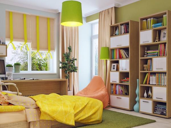 ห้องนอนเด็กสีแจ่ม ๆ น่ารักสดใสออปชั่นครบ3.jpg