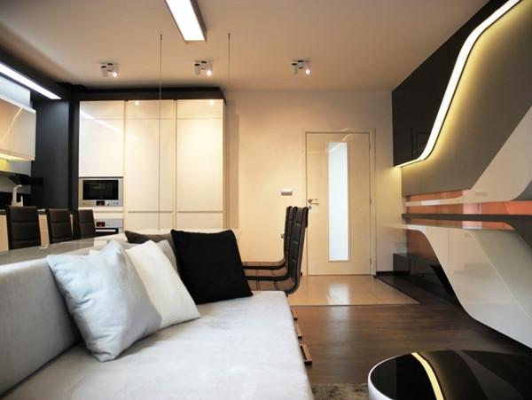 คอนโด 1 ห้องนอน สีขาว-ดำ สไตล์โมเดิร์นสุดล้ำ4.jpg