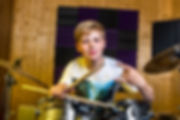 Drum Lessons Student Playing Drums Rock Drummer