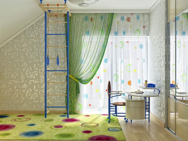 แบบห้องนอนเด็กสีสดใส กับผนังลายท้องฟ้า3.jpg