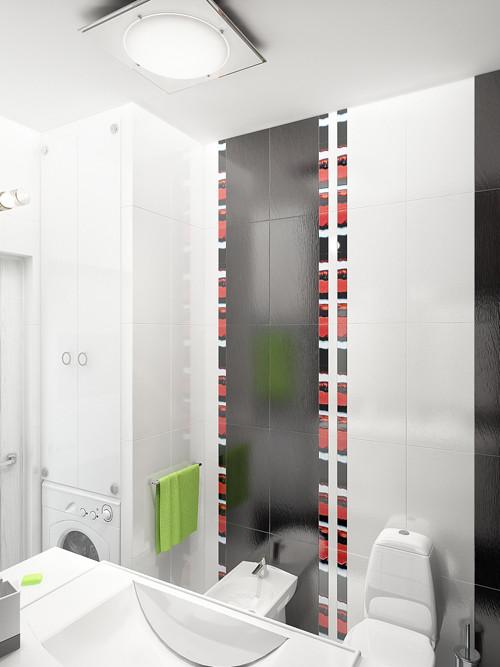 แจ่มแจ๋ว! ห้องน้ำเล็ก ๆ สีดำ สำหรับวัยรุ่น3.jpg
