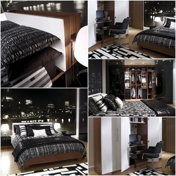 ห้องนอนสีดำเท่ ๆ สำหรับผู้ชาย1.jpg