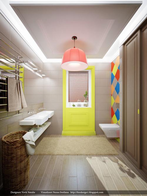 ห้องน้ำสีสดสุดชิค สวยแซบแบบวัยรุ่น5.jpg