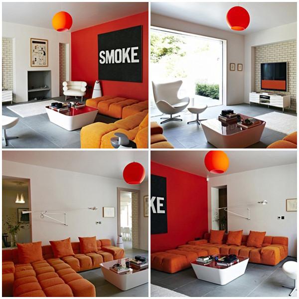 ห้องรับแขกโมเดิร์นสบาย ๆ ฉูดฉาด ด้วยสีส้มสด1.jpg