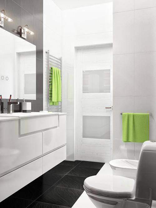 แจ่มแจ๋ว! ห้องน้ำเล็ก ๆ สีดำ สำหรับวัยรุ่น4.jpg