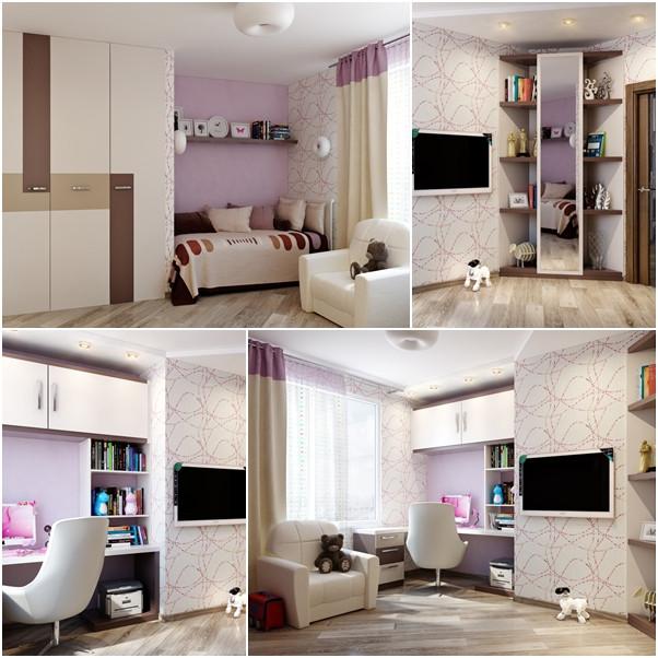 ห้องนอนเด็กสีม่วงสดใส สว่าง ปลอดโปร่ง1.jpg