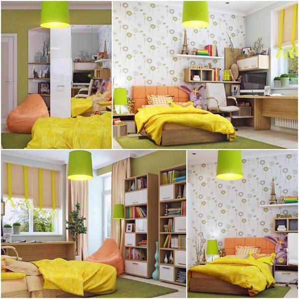 ห้องนอนเด็กสีแจ่ม ๆ น่ารักสดใสออปชั่นครบ1.jpg