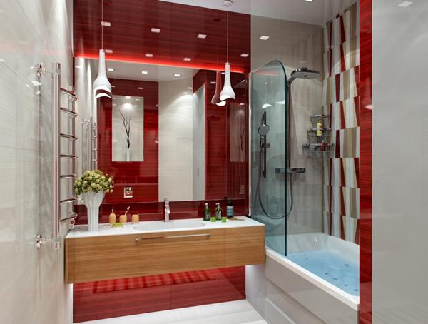 แซ่บ! ห้องน้ำสีแดง สวยล้ำ สไตล์โมเดิร์น5.jpg