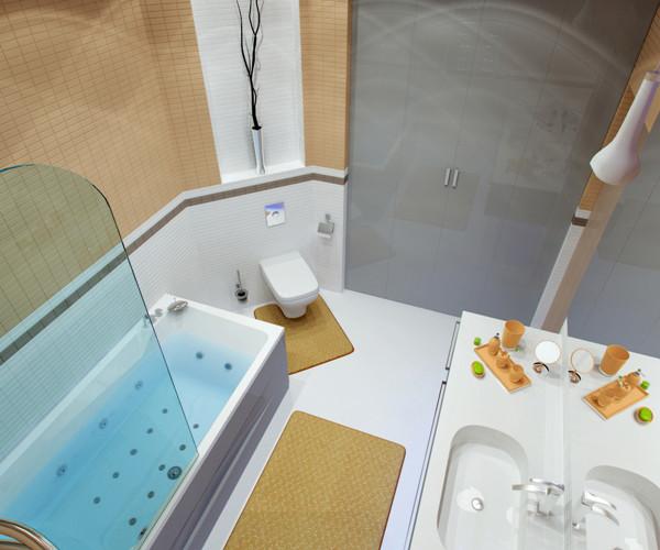 แบบห้องน้ำชั้นล่าง แนวโมเดิร์นสีเหลือง-เทา4.jpg