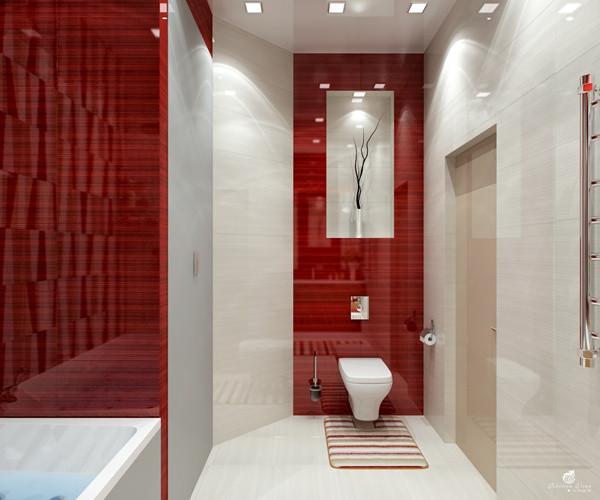 แซ่บ! ห้องน้ำสีแดง สวยล้ำ สไตล์โมเดิร์น3.jpg