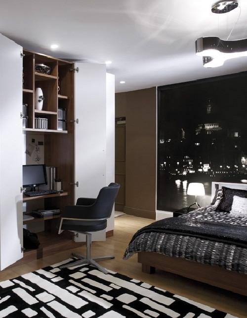 ห้องนอนสีดำเท่ ๆ สำหรับผู้ชาย5.jpg