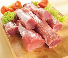 solomito, solomillo, cerdo, carne pulpa, lomo de cerdo