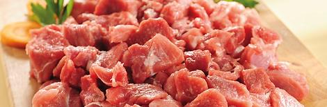 goulash, cerdo, carne picada