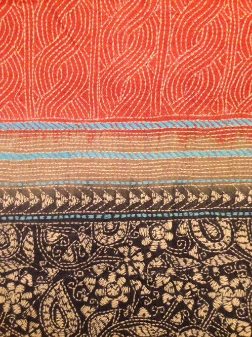 Bengali Silk Shawl/Scarf 05