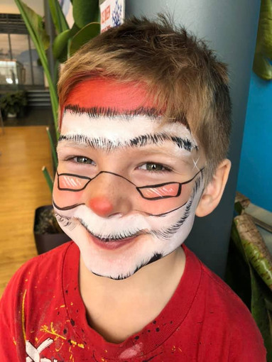 Doodlebug face painting santa.jpg