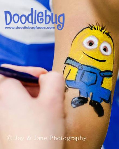 Doodlebug face painting minions.jpg