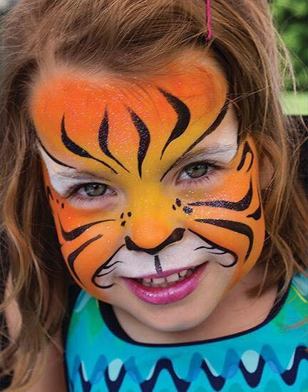 Doodlebug face painting tiger.jpg