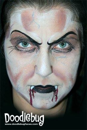 Doodlebug face painting vampire.jpg