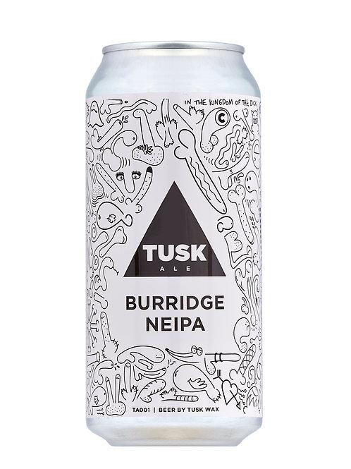 4 PACK - TUSK ALE - BURRIDGE NEIPA - 440ml