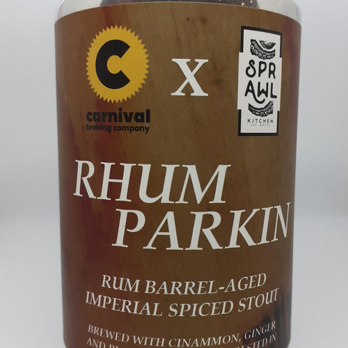 A can of Rhum Parkin