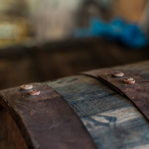 Rhum barrels