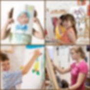 Детская картинная галерея. Художественные мастерские.