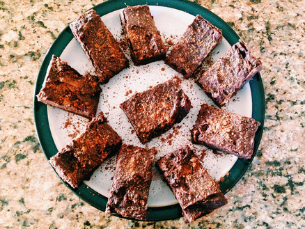 DECADENT CHOCOLATE BROWNIES...