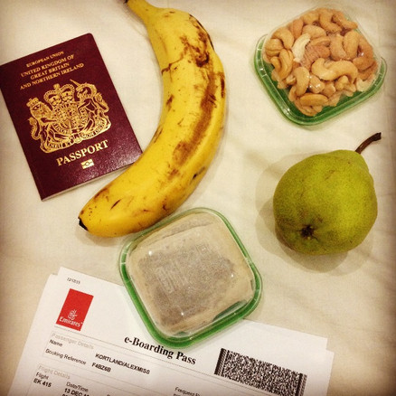 TRAVEL SNACKING...