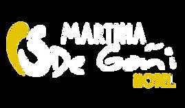 Logo Martina De Goñi Lime Green & White.
