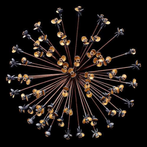 Allium Brooch/Pendant