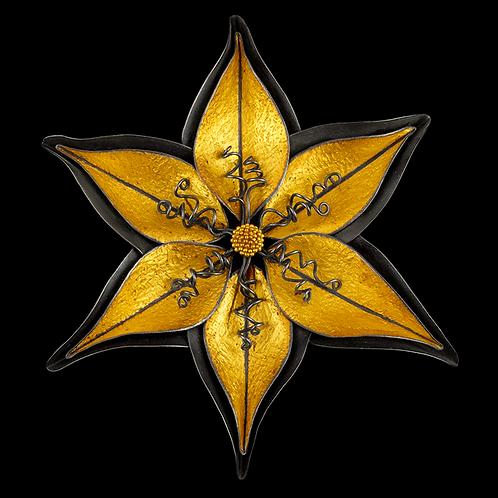 Star Anise Brooch/Pendant