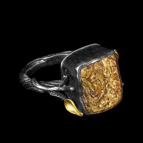 Bronzite Ring