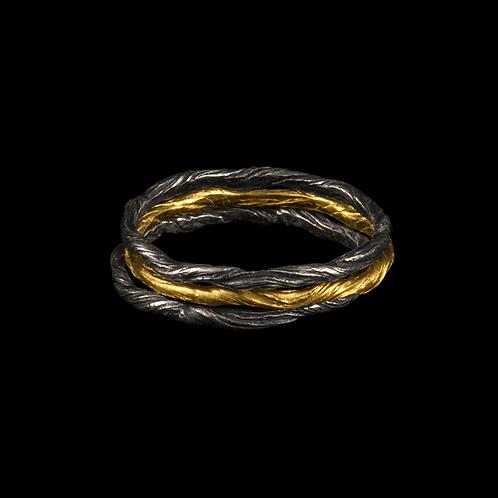 Twig Ring Stack