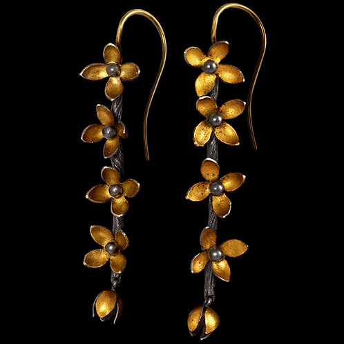 Wildflower Earrings - Sold, please inquire